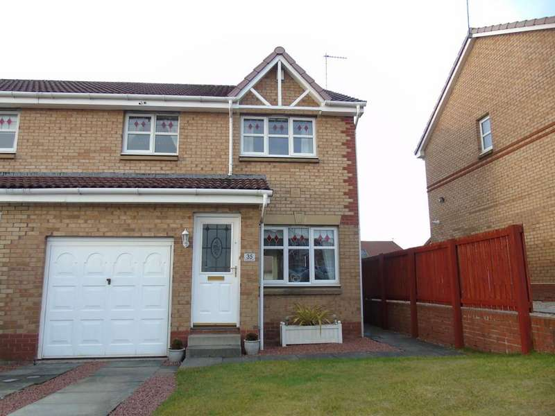 3 Bedrooms Semi Detached House for sale in Girvan Crescent, Chapelhall, Airdrie, North Lanarkshire
