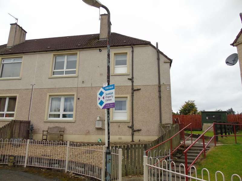 2 Bedrooms Flat for sale in Drumpellier Crescent, Langloan, Coatbridge