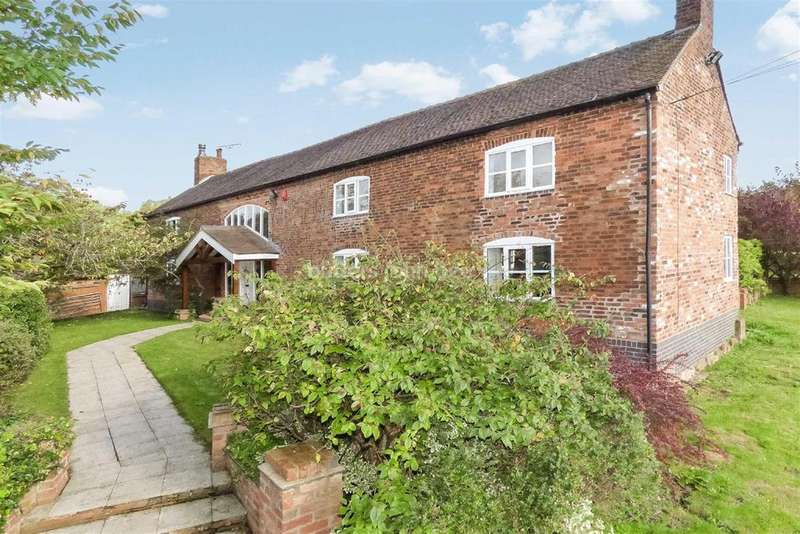 5 Bedrooms Detached House for sale in Barthomley Road, Audley
