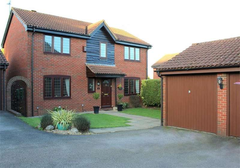 4 Bedrooms Detached House for sale in Portman Close, ST ALBANS, Hertfordshire