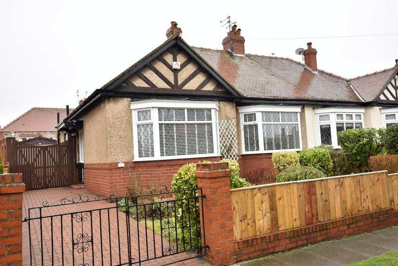 2 Bedrooms Semi Detached Bungalow for sale in Mansfield Crescent, Roker