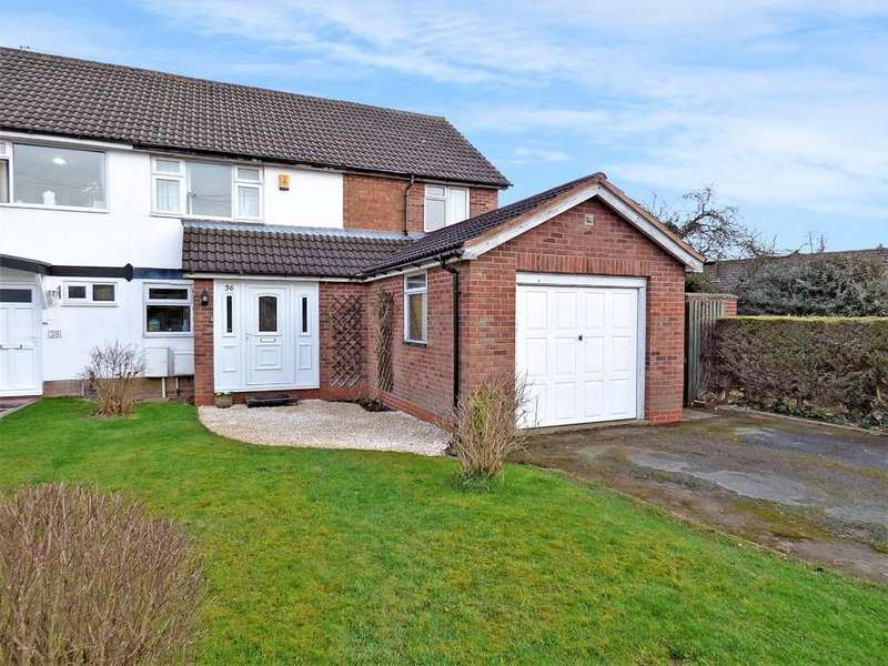 4 Bedrooms Semi Detached House for sale in Micklehome Drive, Alrewas