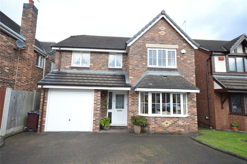 4 Bedrooms Detached House for sale in Claydon Court, Halewood, Liverpool, L26