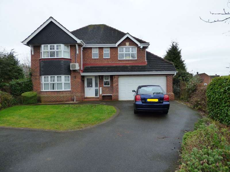 4 Bedrooms Detached House for rent in Parker Gardens, Stapleford, Nottingham, NG9 8QG