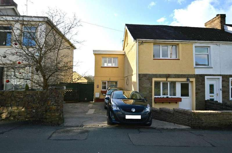 3 Bedrooms End Of Terrace House for sale in Ponthenry, Llanelli