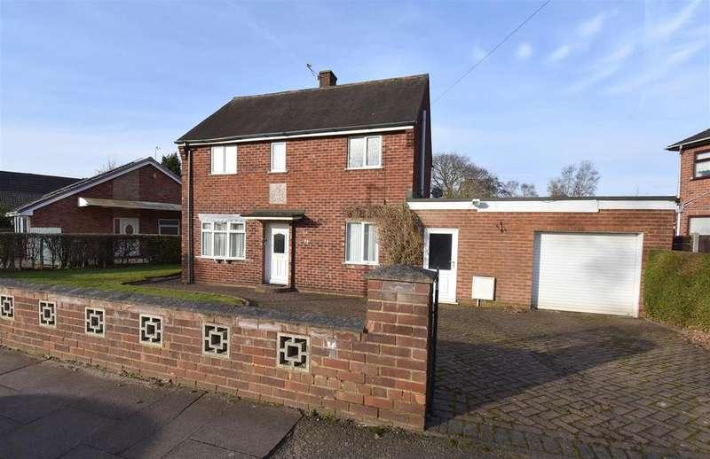 3 Bedrooms Detached House for sale in Wilbrahams Way, Alsager