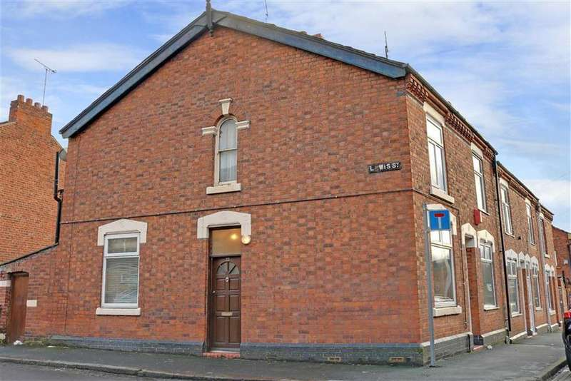 2 Bedrooms End Of Terrace House for sale in Lewis Street, Crewe