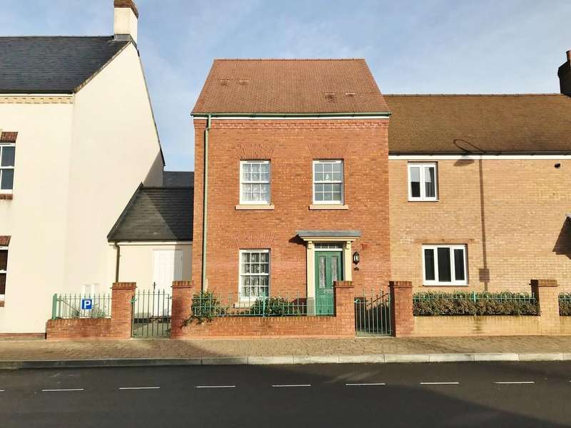 3 Bedrooms Semi Detached House for sale in Brentfore Street, Wichelstowe