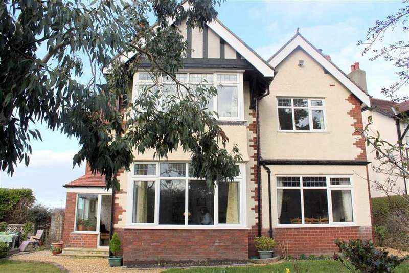 4 Bedrooms Detached House for sale in Fferm Bach Road, Craig Y Don, Llandudno, Conwy