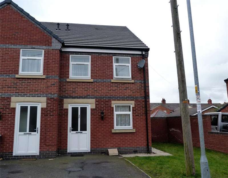 3 Bedrooms End Of Terrace House for sale in Oxford Court, Oxford Street, Crewe, Cheshire, CW1