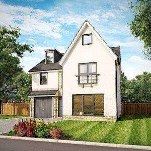 5 Bedrooms Detached House for sale in Plot 5, Willow Grand, Dovecot Grange, Haddington, East Lothian