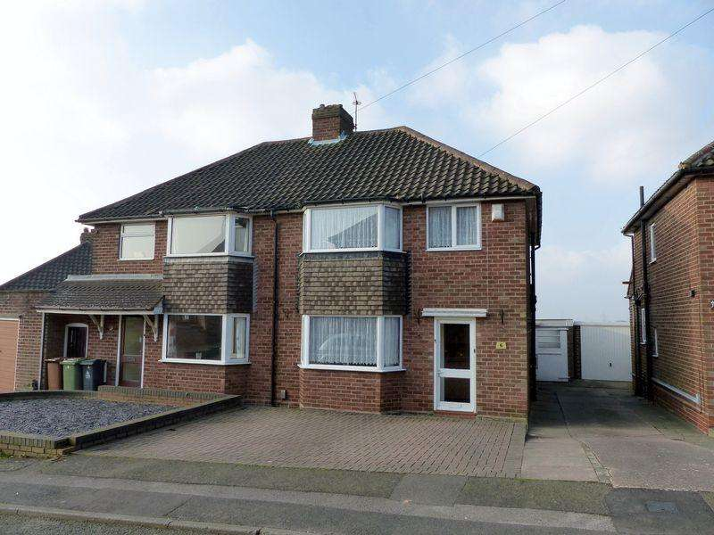 3 Bedrooms Semi Detached House for sale in Beechey Close, Great Barr