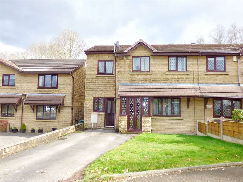 4 Bedrooms Semi Detached House for sale in Apple Way, Alkrington, Middleton, Manchester, M24