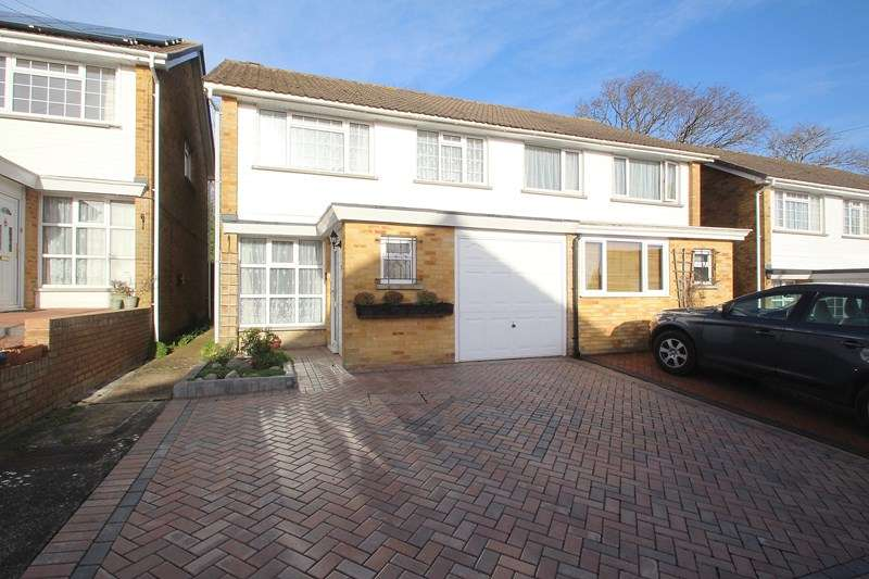 3 Bedrooms Semi Detached House for sale in Hanover Gardens, Fareham