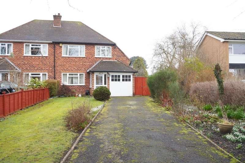 3 Bedrooms Semi Detached House for sale in Mill Lane, Knowle