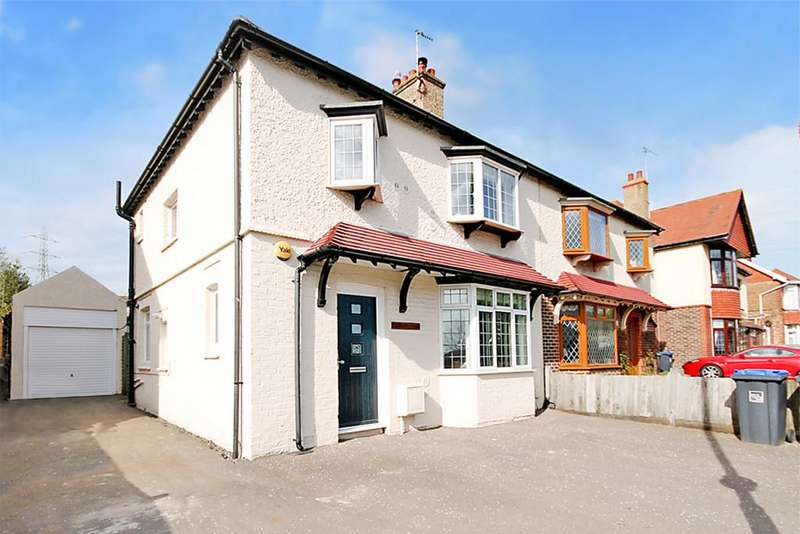 4 Bedrooms Semi Detached House for sale in Old Shoreham Road, Southwick, BN32 4LP
