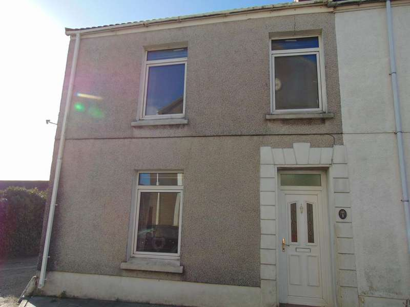 3 Bedrooms End Of Terrace House for sale in Parc Y Minos Street, Burry Port
