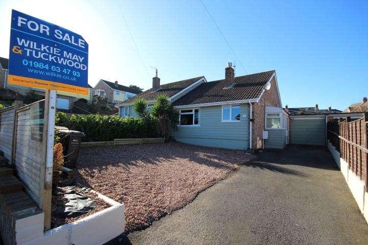 2 Bedrooms Semi Detached Bungalow for sale in Greenway, Watchet TA23