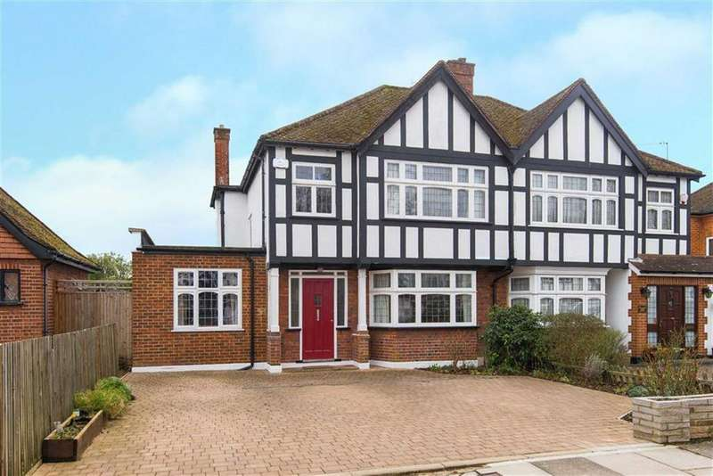 4 Bedrooms Semi Detached House for sale in Pamela Gardens, Pinner, Middlesex