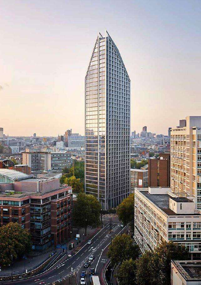 2 Bedrooms Flat for sale in Two Fifty One, Southwark Bridge Road, Elephant and Castle, London, SE1 6BN