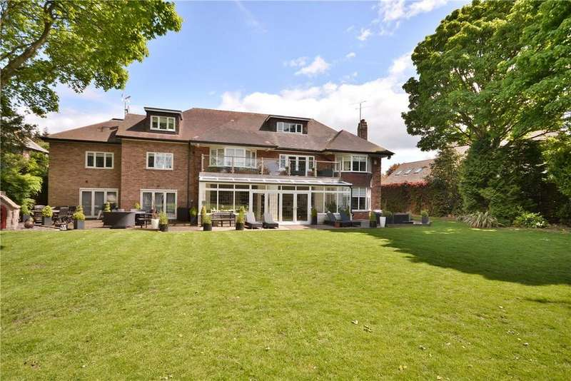 7 Bedrooms Detached House for sale in Sandmoor Drive, Alwoodley, Leeds, West Yorkshire, LS17