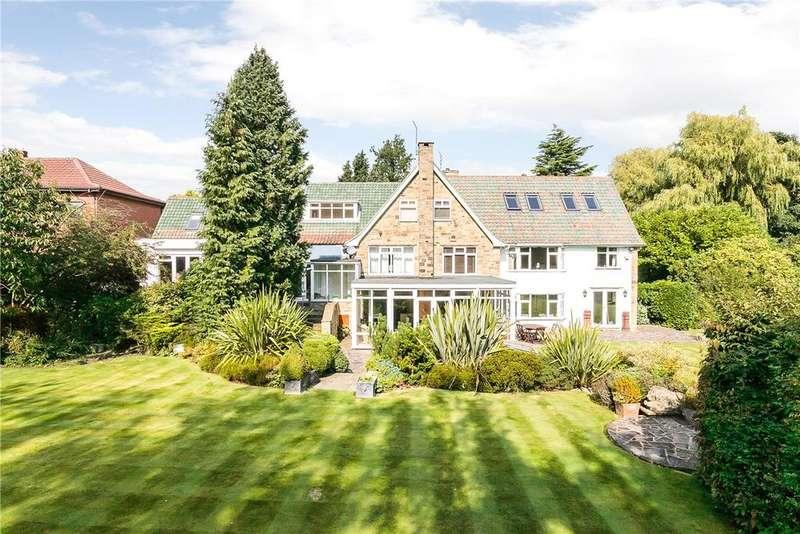 5 Bedrooms Detached House for sale in 374 Alwoodley Lane, Leeds, West Yorkshire, LS17