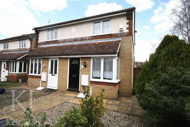 2 Bedrooms Semi Detached House for sale in Denny Gate, Cheshunt