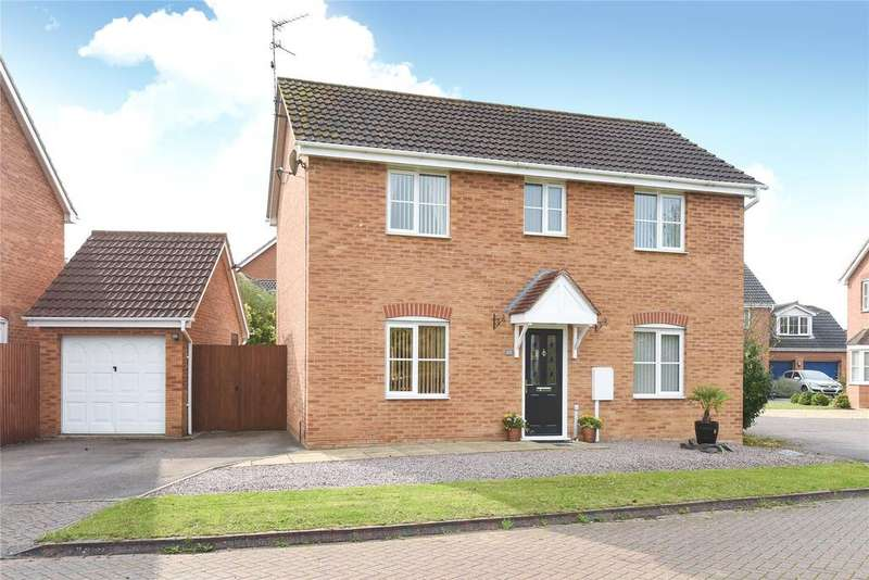 3 Bedrooms Detached House for sale in Shearers Drive, Spalding, PE11