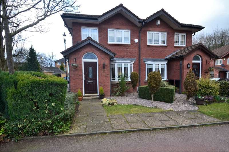 3 Bedrooms Semi Detached House for sale in Carlton Place, Hazel Grove, Stockport SK7 6AG