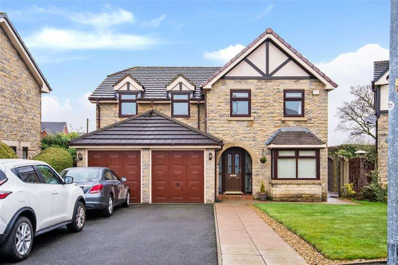 4 Bedrooms Detached House for sale in Highclove Lane, Worsley, Manchester, M28 1GZ