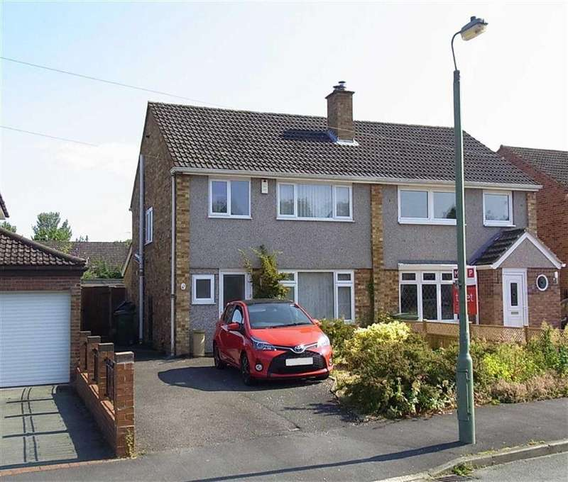 3 Bedrooms Semi Detached House for sale in 50, Highfields, Shrewsbury, Shropshire, SY2
