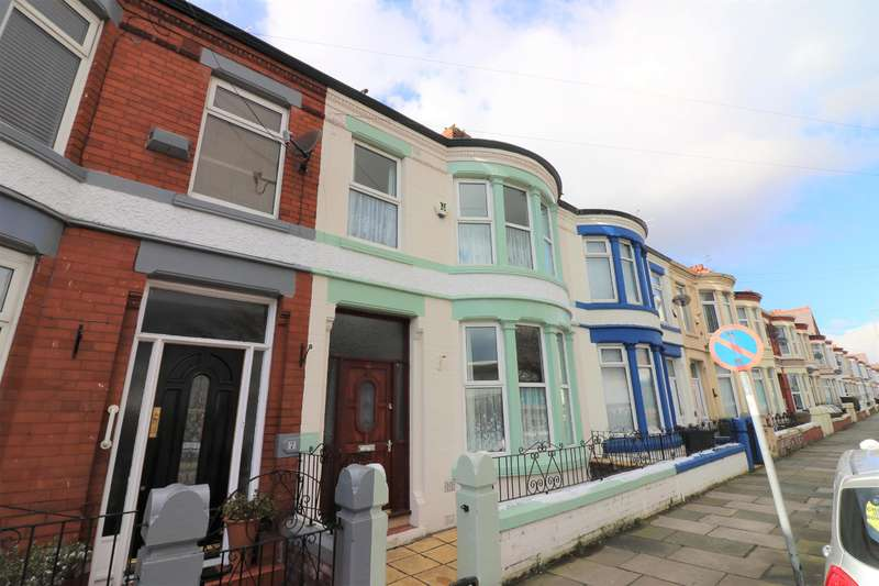 5 Bedrooms Terraced House for sale in Mainwaring Road, Wallasey, CH44 9DN