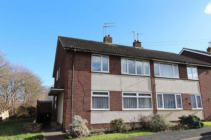 2 Bedrooms Flat for sale in Chelsea Close, Keynsham, Bristol