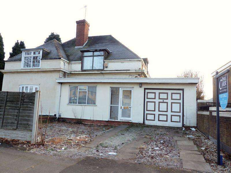 2 Bedrooms Semi Detached House for sale in Aldridge Road, Perry Barr