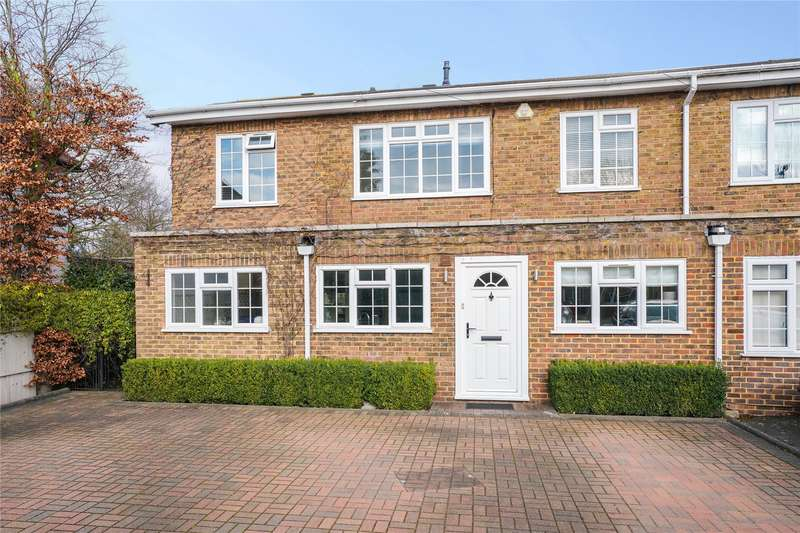5 Bedrooms Semi Detached House for sale in Windsor Walk, Weybridge, Surrey, KT13