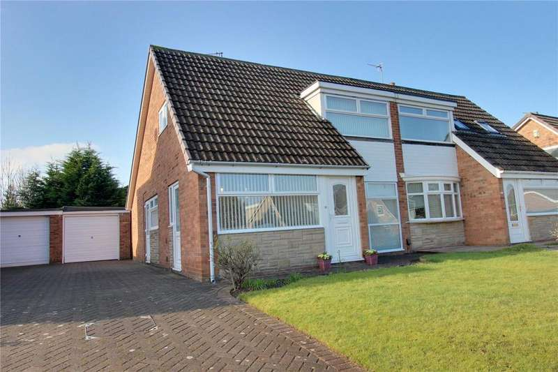 3 Bedrooms Semi Detached House for sale in Earlsdon Avenue, Acklam