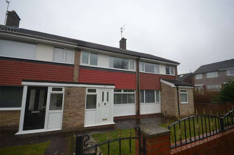3 Bedrooms Terraced House for sale in Whitehills