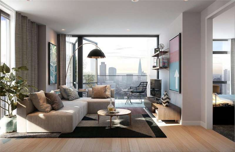 3 Bedrooms Penthouse Flat for sale in Atlas, City Road, London, EC1V