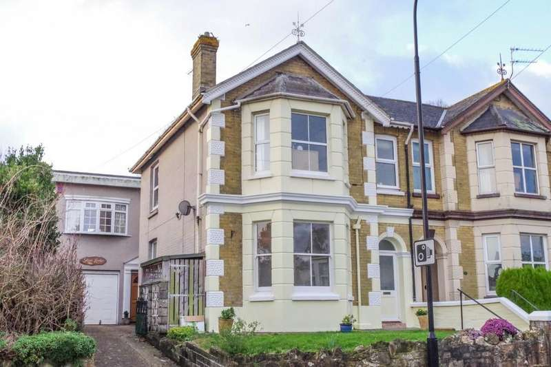 2 Bedrooms Semi Detached House for sale in Victoria Avenue, Shanklin