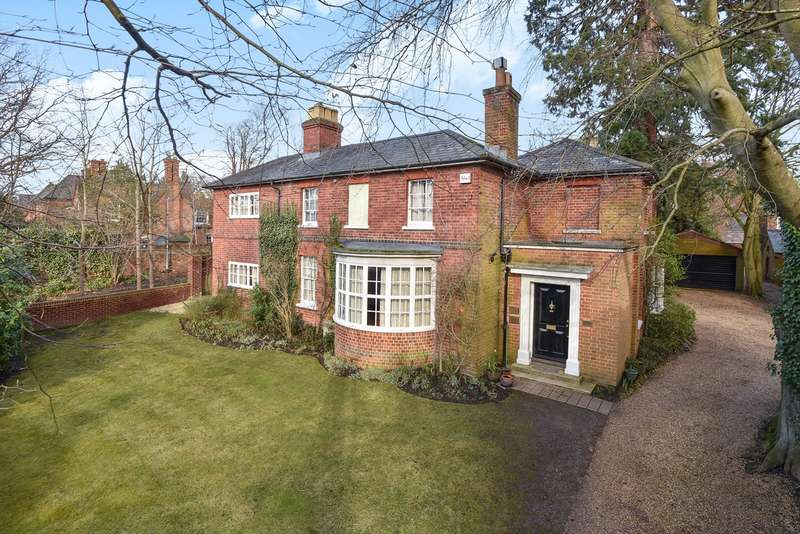 5 Bedrooms Detached House for sale in Milton Road, WOKINGHAM, RG40