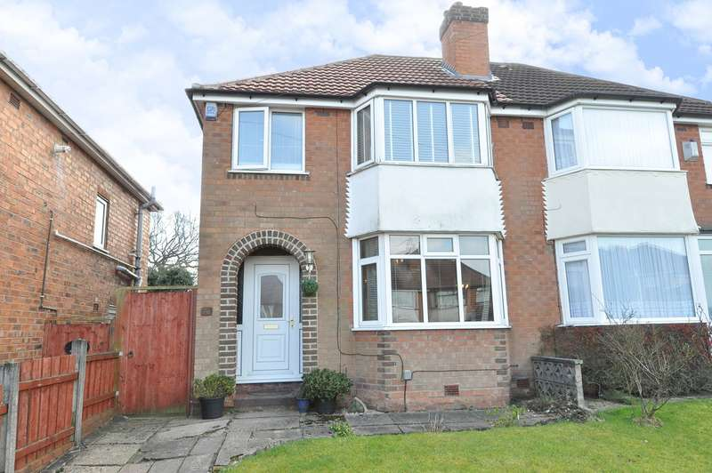 3 Bedrooms Semi Detached House for sale in Green Acres Road, Birmingham, B38