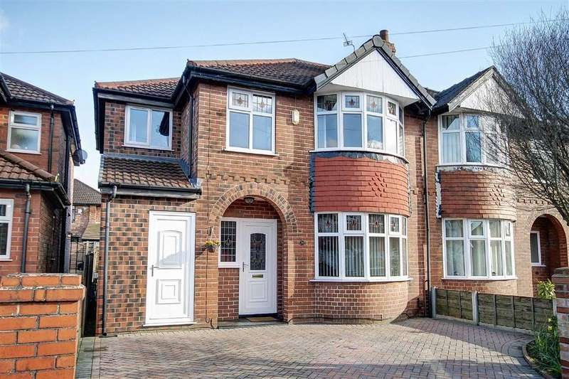 3 Bedrooms Semi Detached House for sale in St Georges Avenue, Timperley