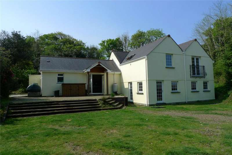 4 Bedrooms Equestrian Facility Character Property for sale in Calloose Lane, Leedstown, Hayle, Cornwall