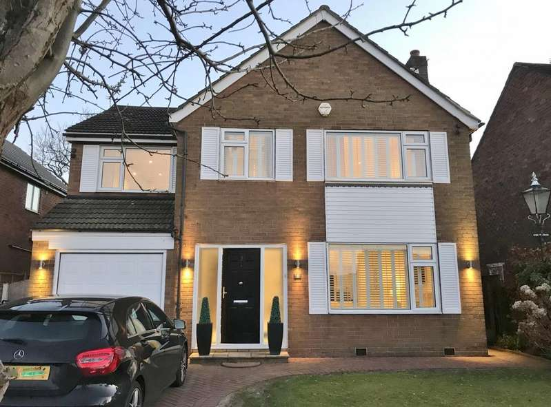 4 Bedrooms Detached House for sale in Crabtree Avenue, Hale Barns