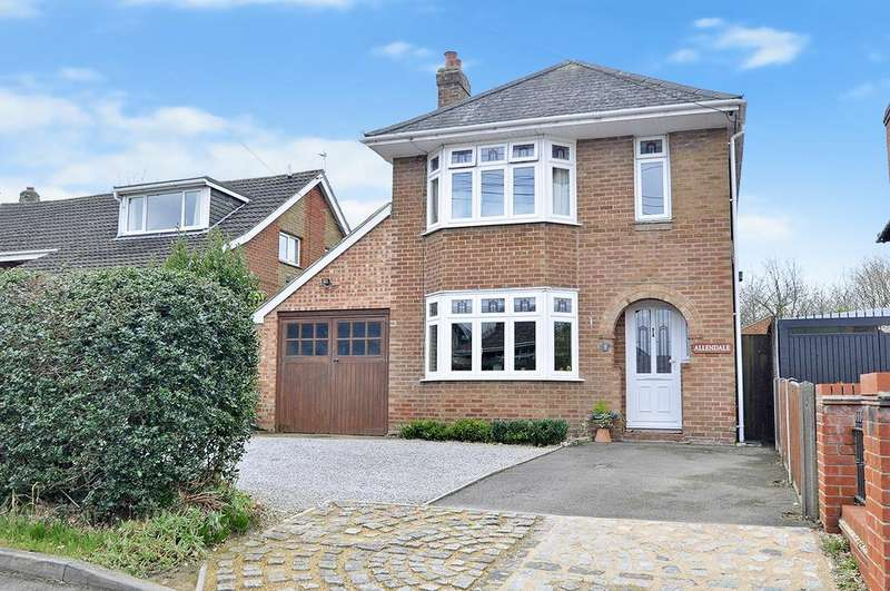 4 Bedrooms Detached House for sale in The Drove, West End, Southampton, Hampshire, SO30 2EF