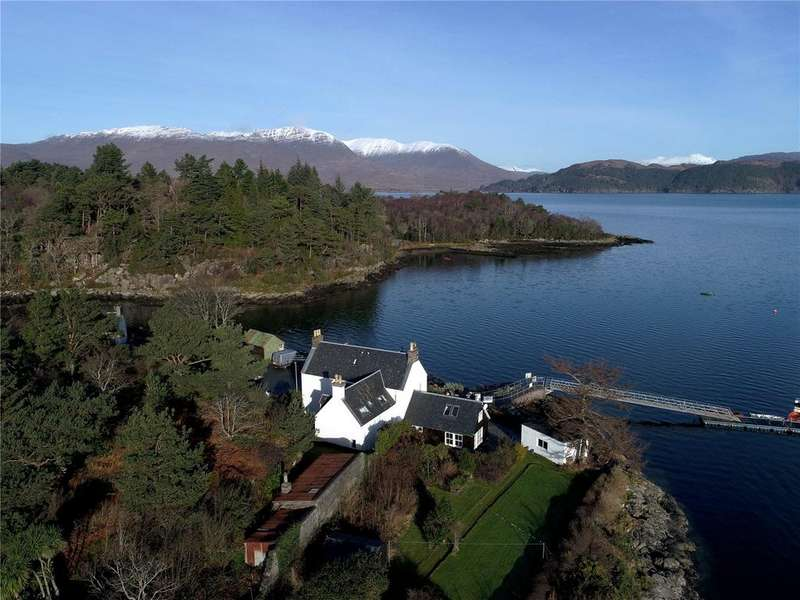 5 Bedrooms Detached House for sale in Plockton, Ross-Shire