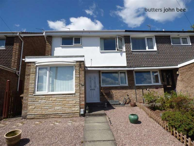 3 Bedrooms Semi Detached House for sale in Hill Crescent, Stone, Staffordshire