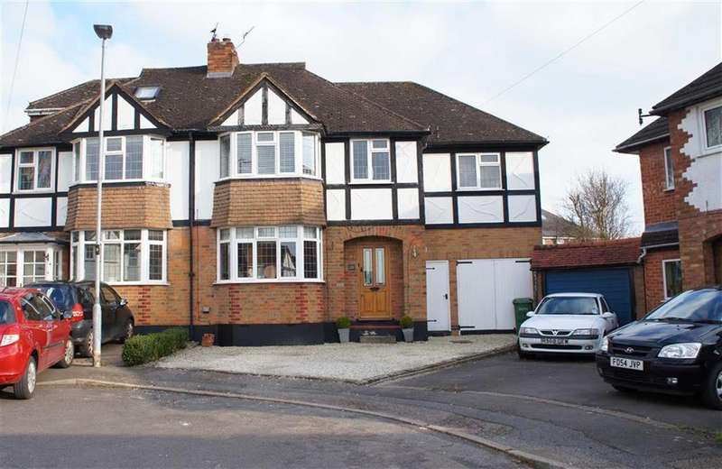 4 Bedrooms Semi Detached House for sale in Tudor Drive, Oadby