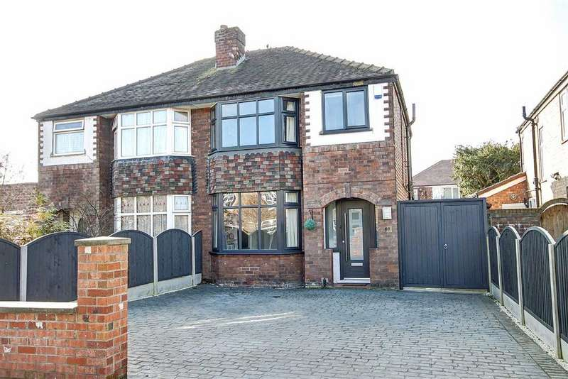 3 Bedrooms Semi Detached House for sale in Grove Lane, Timperley, Cheshire