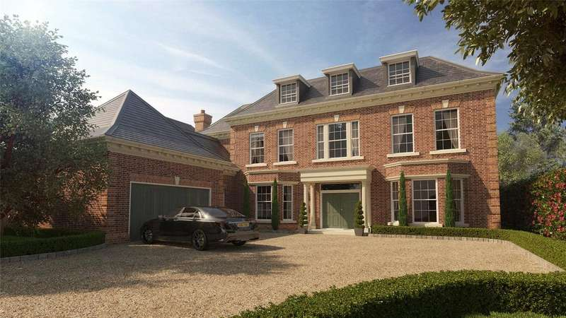 5 Bedrooms Detached House for sale in Fairbourne, Cobham, KT11